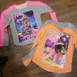 2 Christmas justice shirts